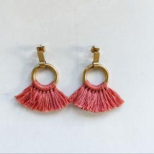 Madewell tassel earrings